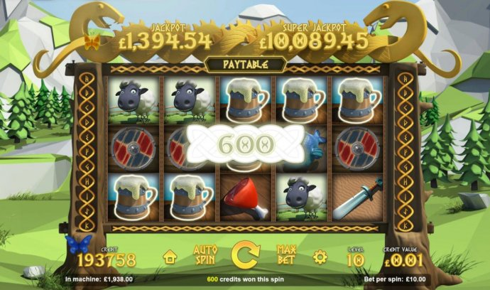 The Vikings: Wheels of Valhalla by No Deposit Casino Guide