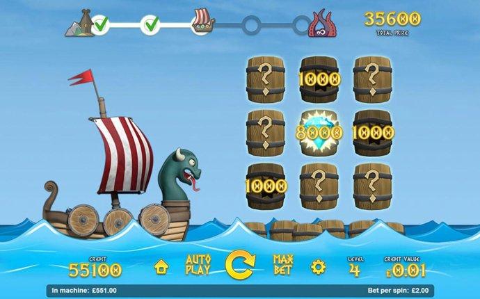 No Deposit Casino Guide - The Sea Journey Bonus Game Board