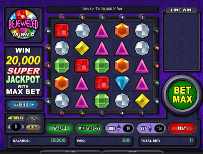 Bejeweled by No Deposit Casino Guide