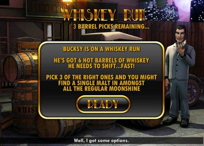 Whiskey Run Bonus Feature - No Deposit Casino Guide