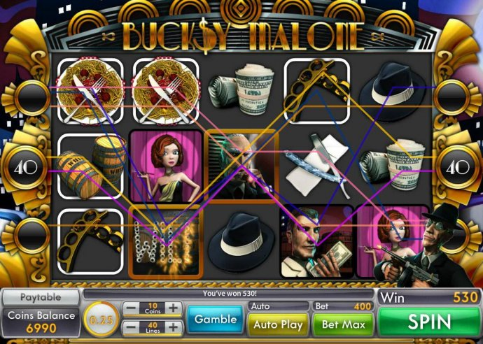 Multiple winning paylines triggers a big win! by No Deposit Casino Guide