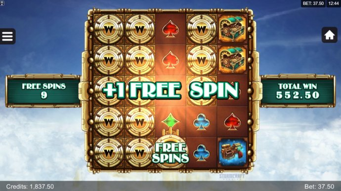 An additional free spin awarded by No Deposit Casino Guide