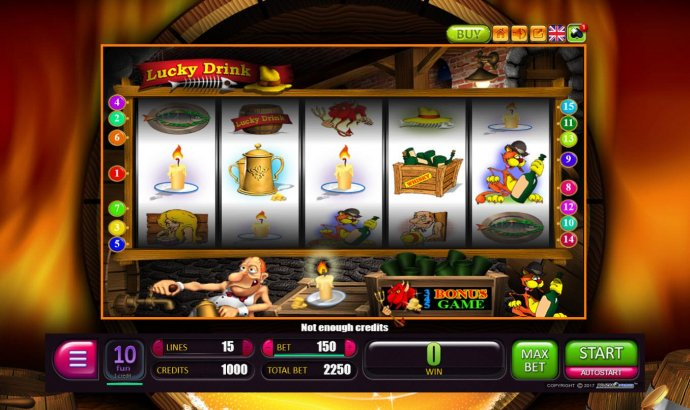 No Deposit Casino Guide image of Lucky Drink