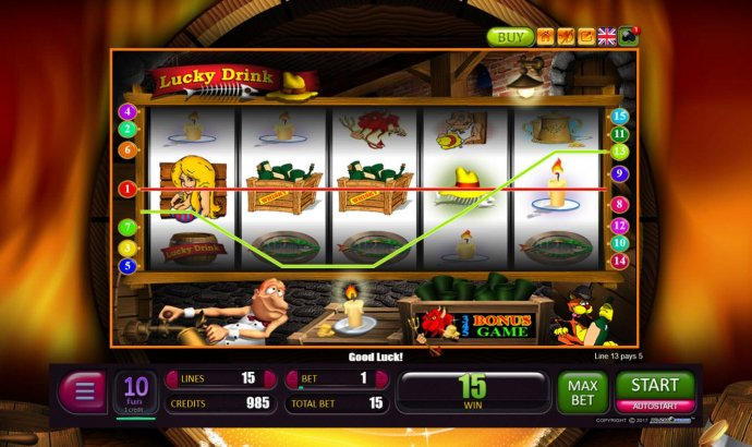 Pair of winning paylines by No Deposit Casino Guide