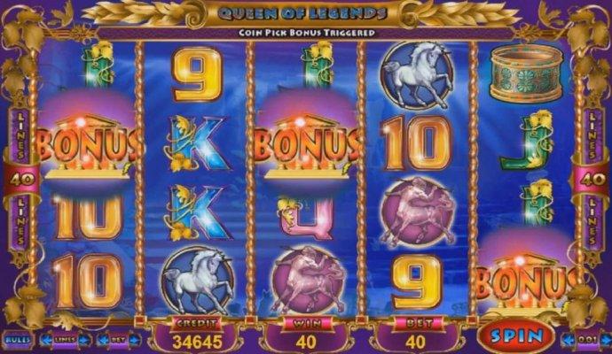 No Deposit Casino Guide - Three bonus symbols triggers bonus feature