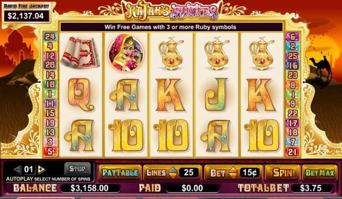 Rajah's Rubies by No Deposit Casino Guide