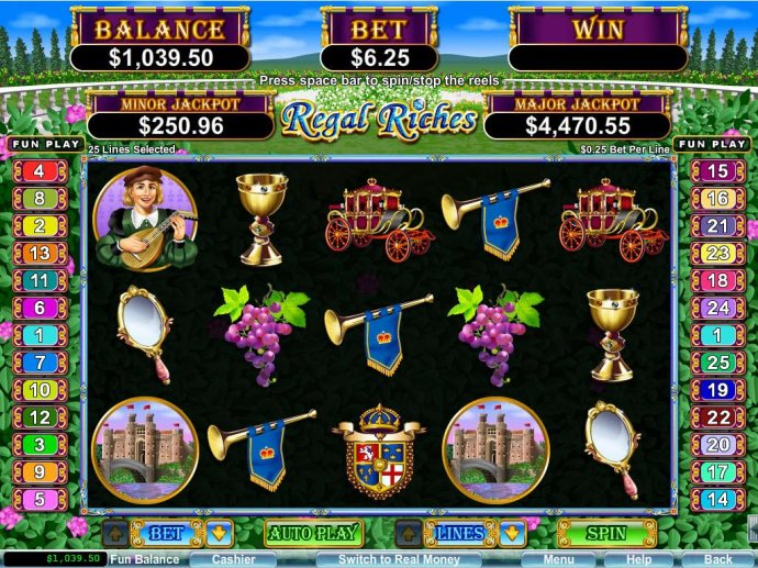 Regal Riches by No Deposit Casino Guide
