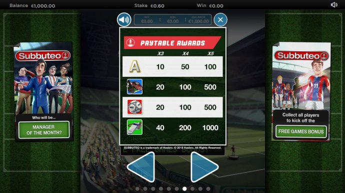 Subbuteo screenshot