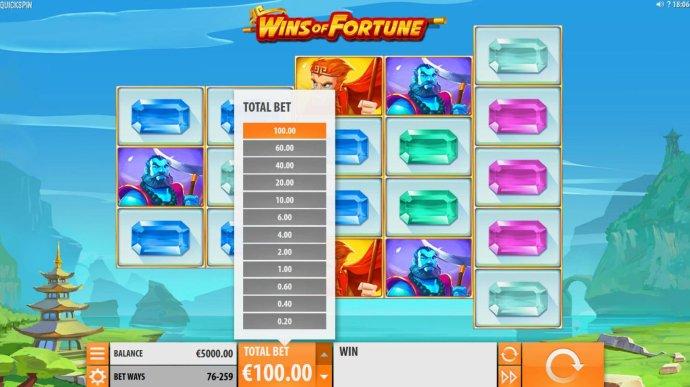 Wins of Fortune screenshot