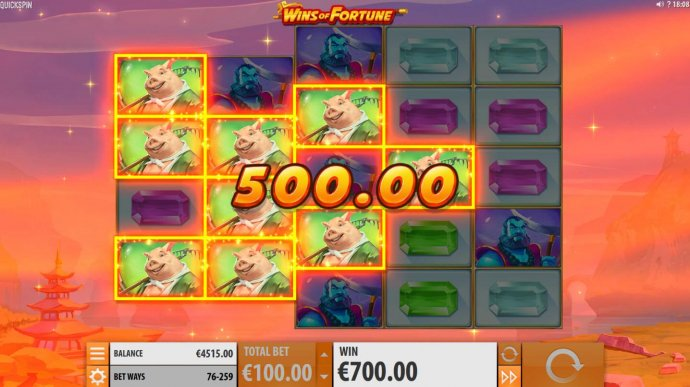 No Deposit Casino Guide image of Wins of Fortune