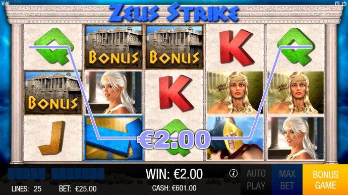 Zeus Strike screenshot