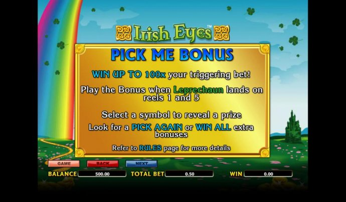 Irish Eyes by No Deposit Casino Guide