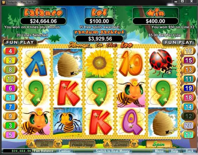 Honey To The Bee by No Deposit Casino Guide