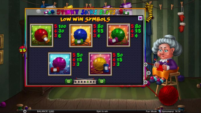 Stinky Socks Slots screenshot