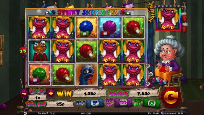 No Deposit Casino Guide image of Stinky Socks Slots