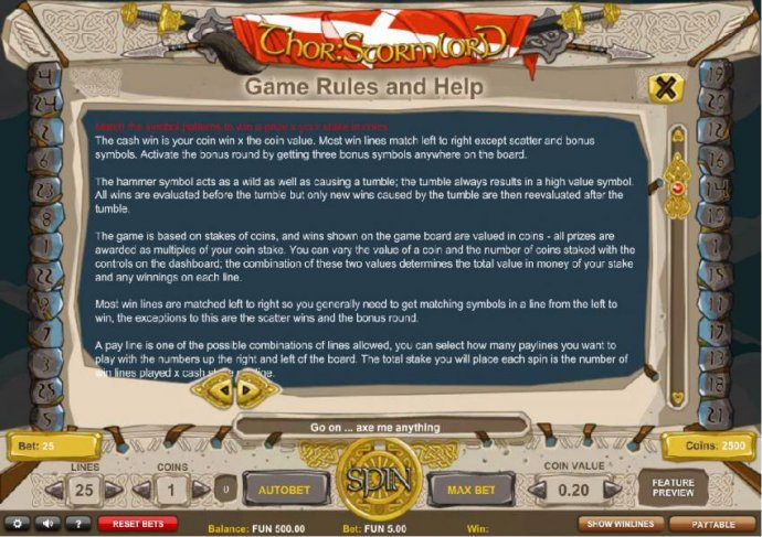 Game Rules and Help - Part 1 - No Deposit Casino Guide