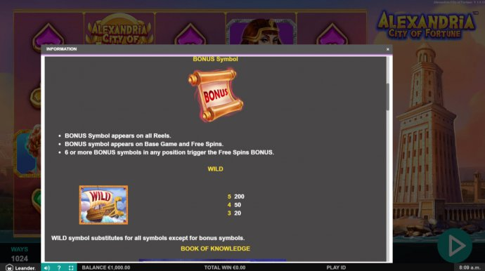 Alexandria City of Fortune screenshot