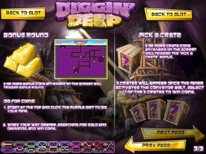 bonus round and pick a crate feature game rules - No Deposit Casino Guide