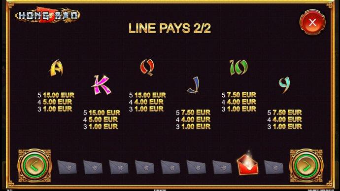 No Deposit Casino Guide image of Hong Bao
