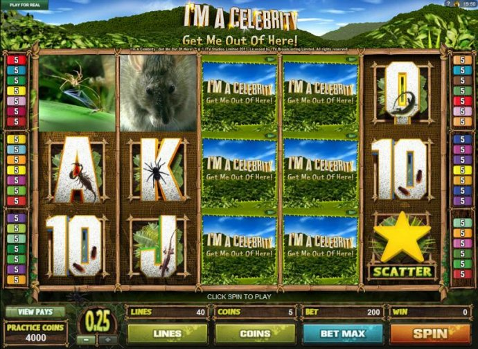 No Deposit Casino Guide image of I'M A Celebrity Get Me Out Of Here!