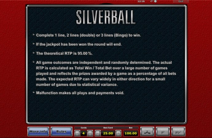 Silverball by No Deposit Casino Guide