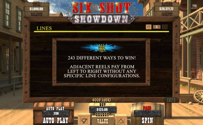 243 Ways to Win by No Deposit Casino Guide