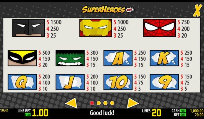 No Deposit Casino Guide image of SuperHeroes