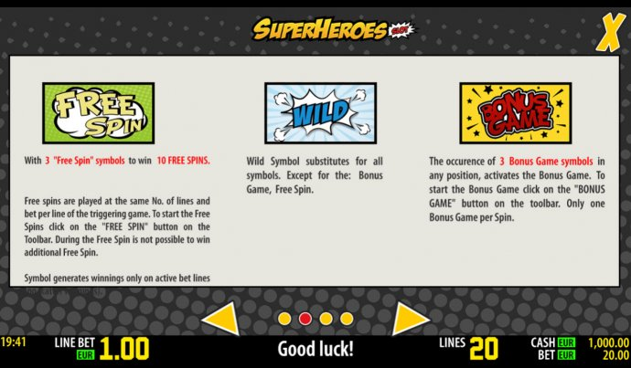 SuperHeroes by No Deposit Casino Guide