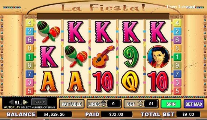 No Deposit Casino Guide image of La Fiesta