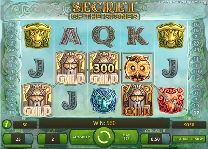 Secret of the Stones by No Deposit Casino Guide