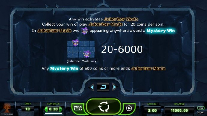 any win activates Jokerizer Mode - No Deposit Casino Guide