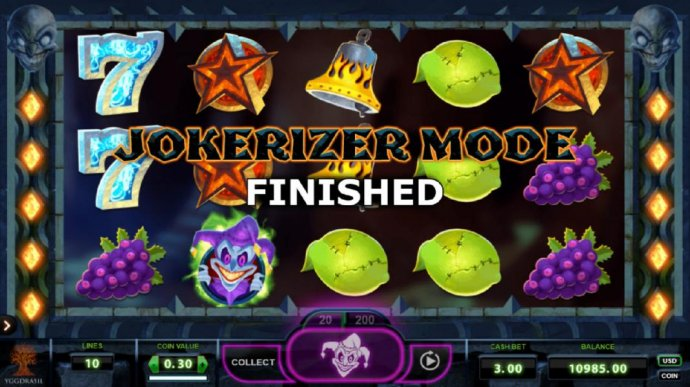 No Deposit Casino Guide - Jokerizer Mode ends when there are no more winning spins.