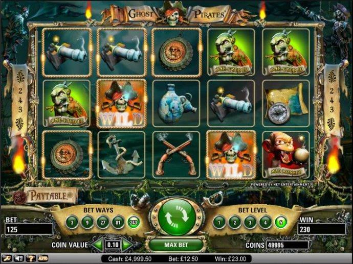 Ghost Pirates screenshot
