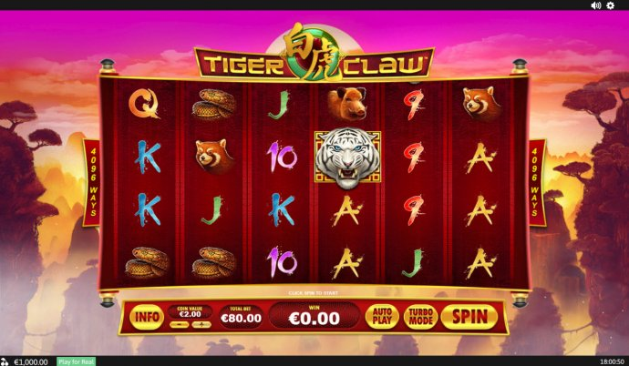 No Deposit Casino Guide image of Tiger Claw