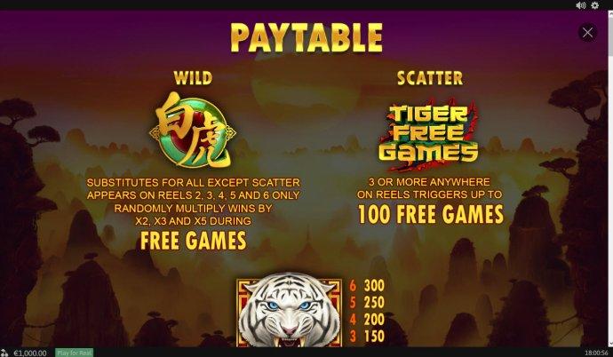 Tiger Claw screenshot