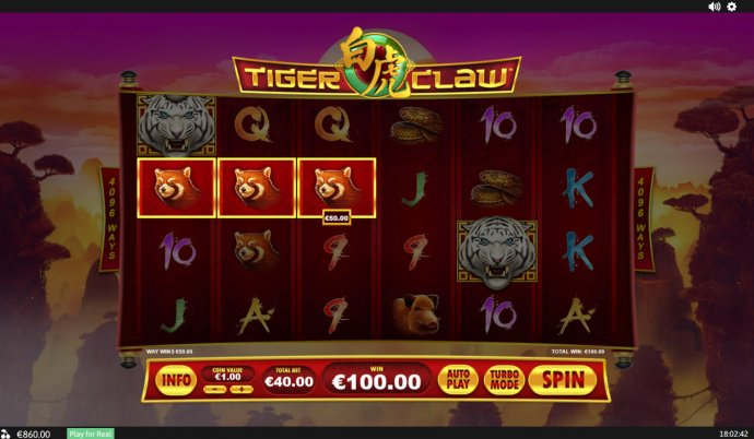 Tiger Claw by No Deposit Casino Guide