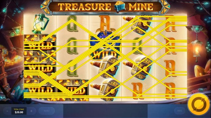 Multiple winning paylines triggers a big win! - No Deposit Casino Guide