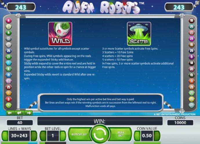 No Deposit Casino Guide image of Alien Robots