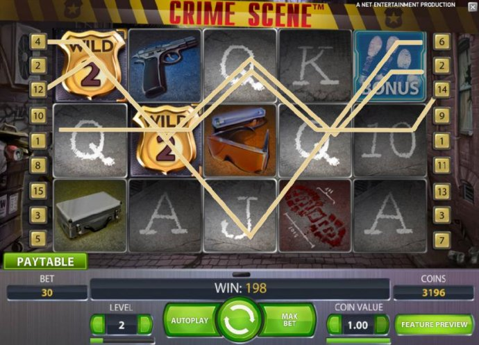 sticky wilds will stay for the numbr of spins indicated on the shield symbol by No Deposit Casino Guide