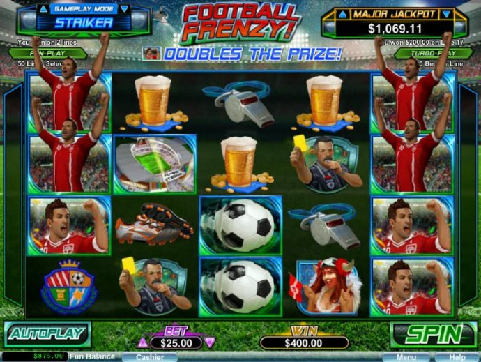 Football Frenzy! by No Deposit Casino Guide