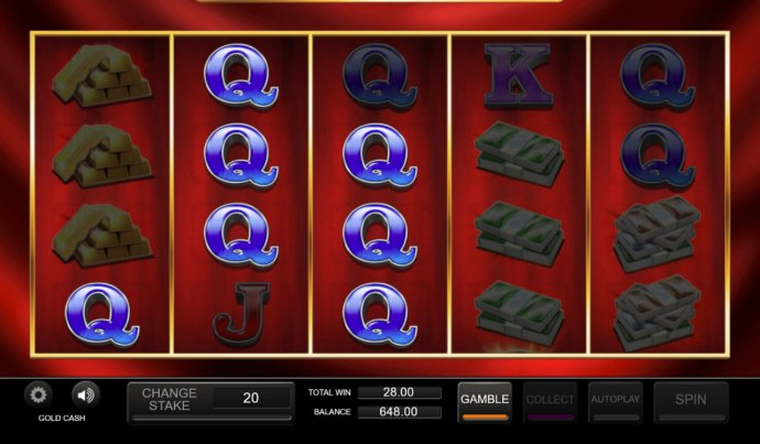 No Deposit Casino Guide image of Gold Cash