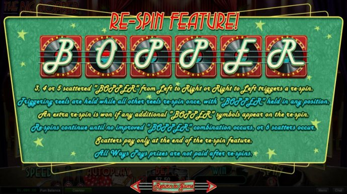 No Deposit Casino Guide image of The Big Bopper