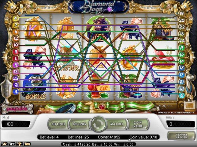 No Deposit Casino Guide image of Diamond Dogs