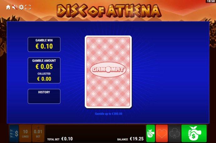 No Deposit Casino Guide image of Disc of Athena