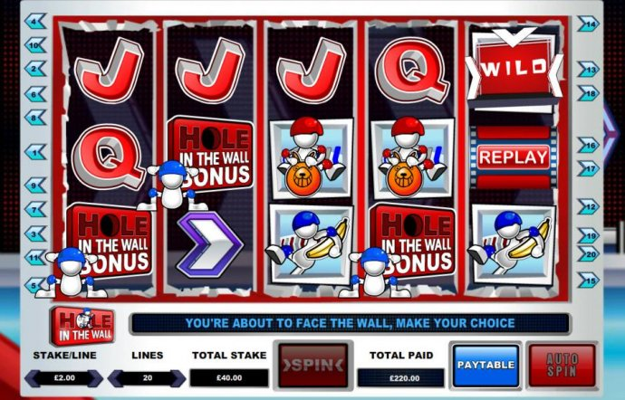 Hole in the Wall by No Deposit Casino Guide