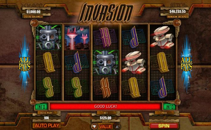 Main Game Board by No Deposit Casino Guide