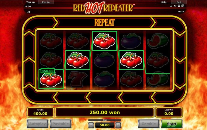 Red Hot Repeater by No Deposit Casino Guide