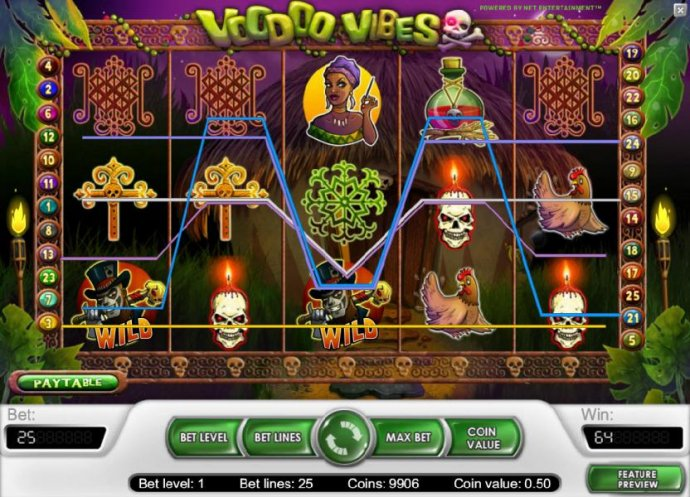 64 coin payout triggered by multiple winning paylines - No Deposit Casino Guide