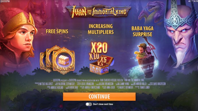 No Deposit Casino Guide image of Ivan and the Immortal King
