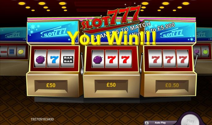 Slot 777 screenshot